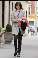 DAKOTA JOHNSON Out and About in New York 04/17/2015