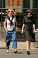 DAKOTA JOHNSON Out and About in Tribeca 04/18/2015