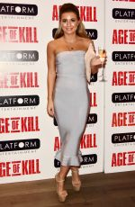 DANI DYER at Age of Kill Private Screening in London