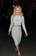 DANIELLE ARMSTRONG at The Only Way is Essex Wrap Party in Soho