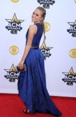 DANIELLE BRADBERY at Academy of Country Music Awards 2015 in Arlington