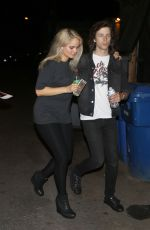 DEBBY RYAN Night Out in West Hollywood 04/27/2015
