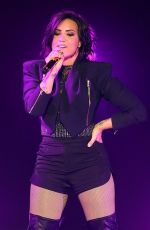 DEMI LOVATO Performs at The Crowne Theatre in Perth