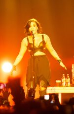 DEMI LOVATO Performs at The Vector Arena in Auckland