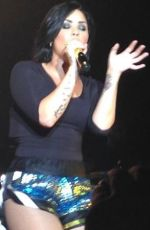 DEMI LOVATO Performs at World Tour in Sydney