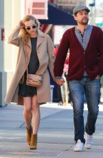DIANE KRUGER and Joshua Kackson Out and About in New York