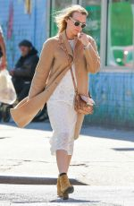 DIANE KRUGER Out Shopping in New York