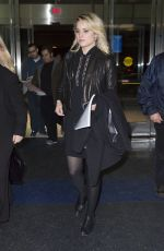 DIANNA AGRON at JFK Airport in New York 04/20/2015