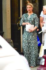 DIANNA AGRON Out and About in Soho 04/19/2015