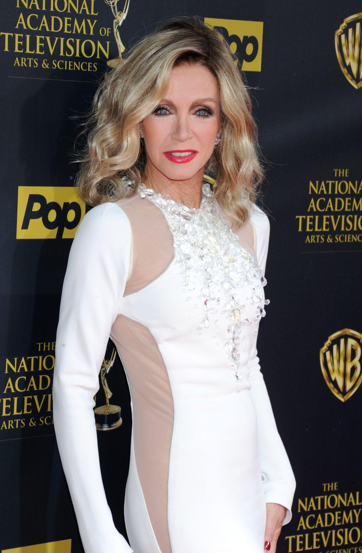 DONNA MILLS at 2015 Daytime Emmy Awards in Burbank