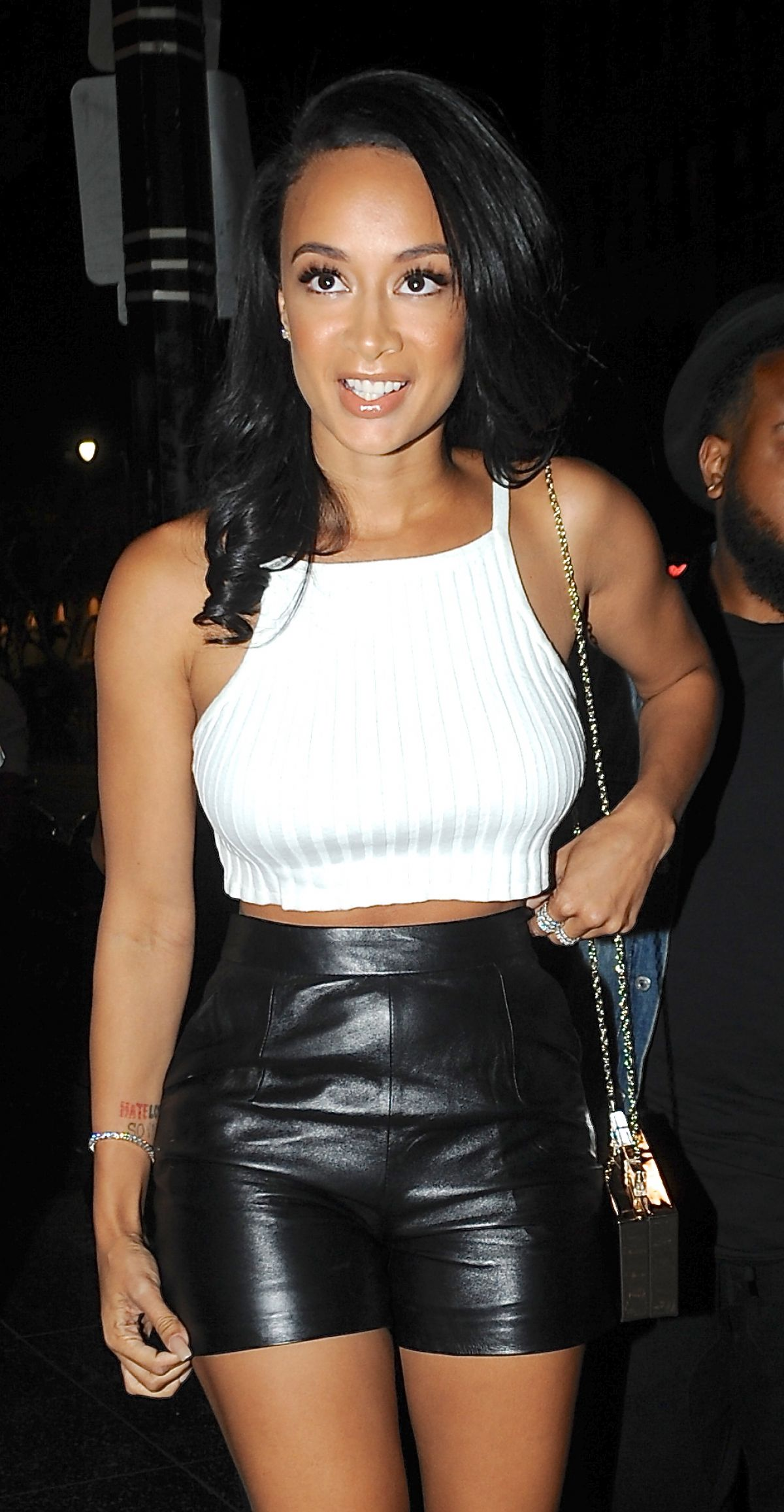 DRAYA MICHELE at Supperclub in Los Angeles - HawtCelebs