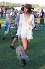EIZA GONZALEZ at Coachella Music Festival, Day 3