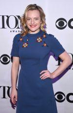 ELISABETH MOSS at Tony Awards Meet the Nominees Press Reception in New York