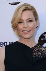 ELIZABETH BANKS at Resident Advisors Premiere in Los Angeles