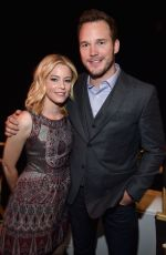 ELIZABETH BANKS at Universal Pictures Presentation at Cinemacon in Las Vegas
