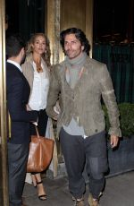 ELIZABETH BERKLEY Leaves Her Hotel in New York