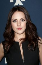 ELIZABETH GILLIES at 2015 FX Bowling Party in New York