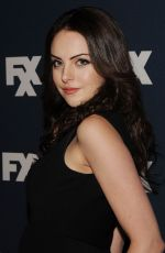 ELIZABETH GILLIES at FX Bowling Party in New York