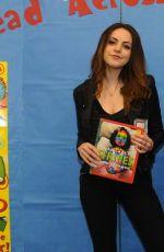 ELIZABETH GILLIES at Read Acrossa America Day in Los Angeles