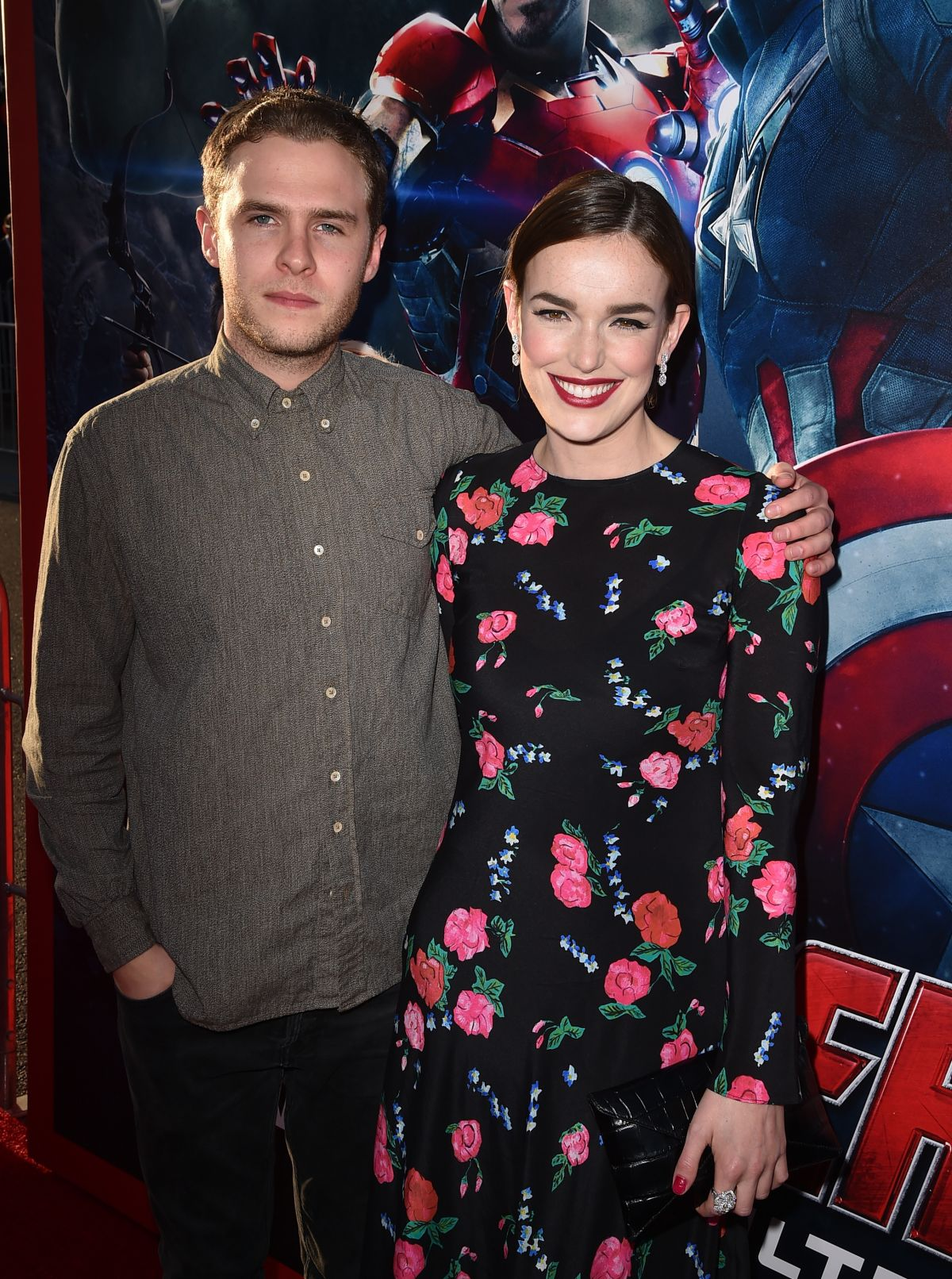 ELIZABETH HENSTRIDGE at Avengers: Age of Ultron Premiere in Hollywood