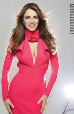 ELIZABETH HURLEY in Zoomer Magazine, May 2015 Issue