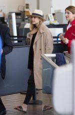 ELIZABETH OLSEN Departing from LAX Airport 04/19/2015