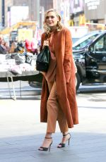 ELIZABETH OLSEN Out and About in New York 04/28/2015