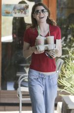 ELLEN POMPEO Out and About in Los Angeles 04/26/2015