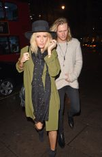ELLIE GOULDING Night Out in London