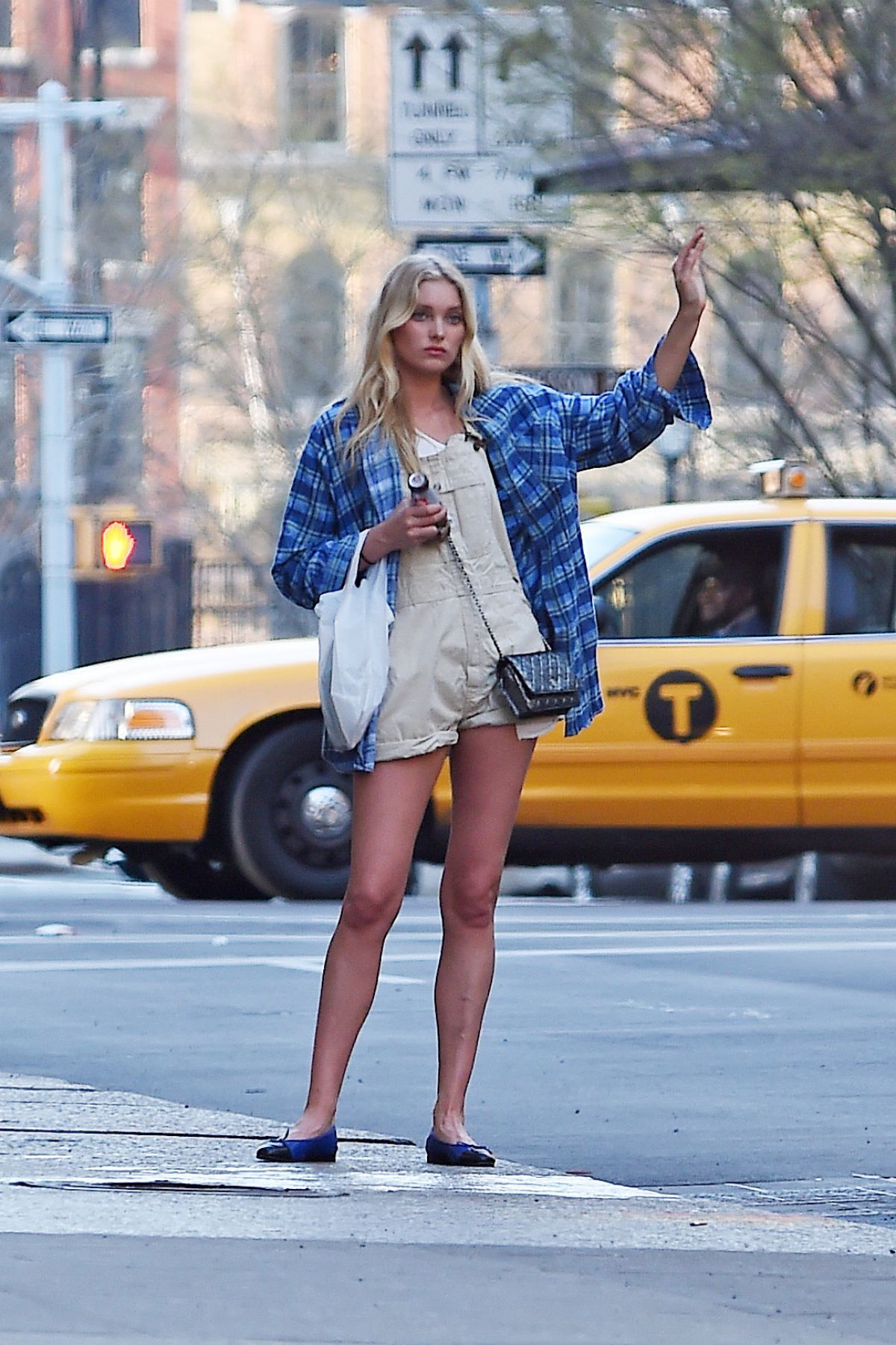 ELSA HOSK Hailing a Cab in New York