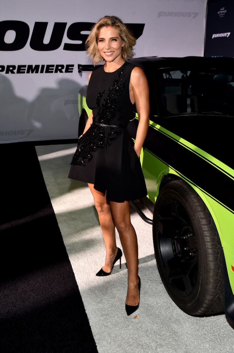 Watch Elsa pataky fate of the furious pemiere in new york video
