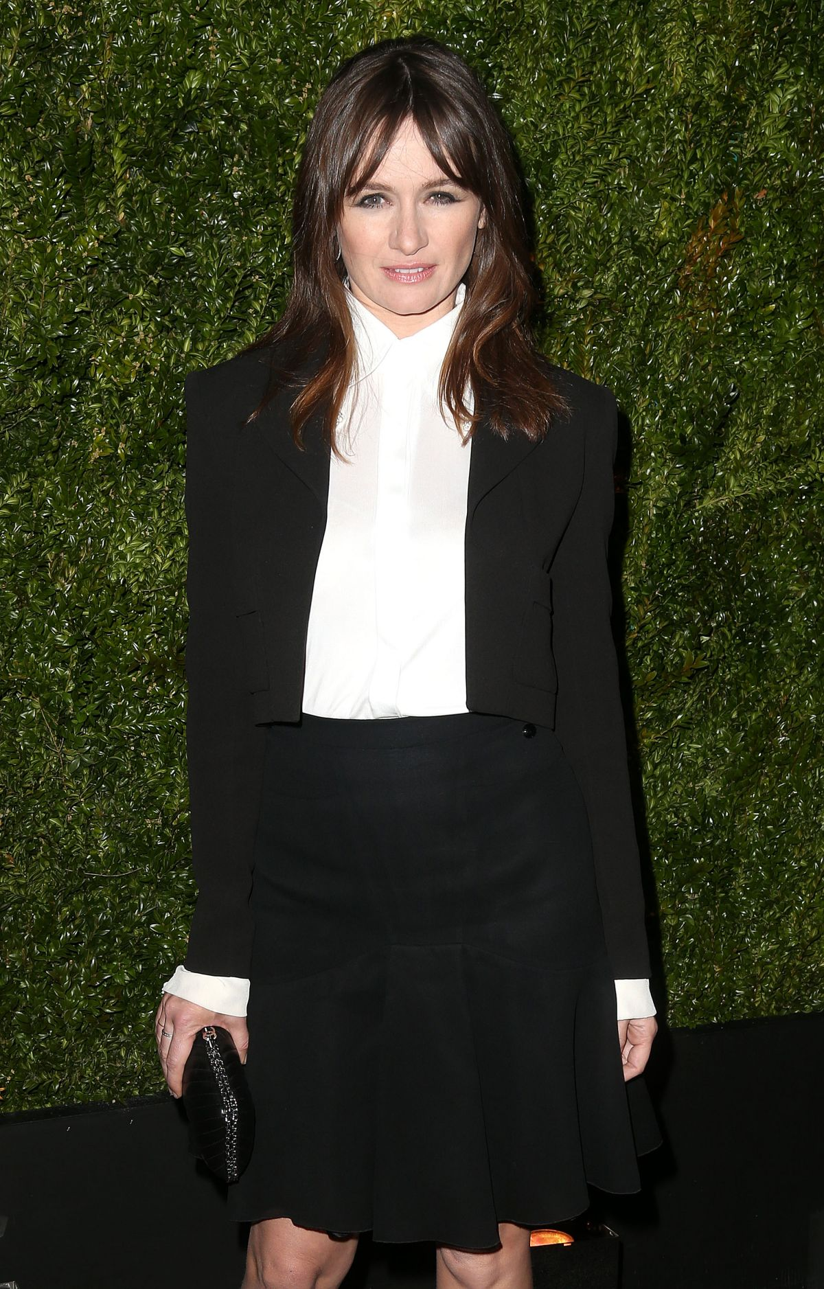 EMILY MORTIMER at Chanel Dinner at Tribeca Film Festival in New York