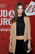 EMILY RATAJKOWSKI at a Budweiser Event in Los Angeles