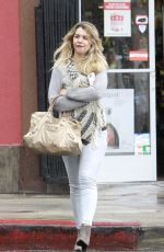 EMILY SEARS Out and About in Los Angeles 04/25/2015