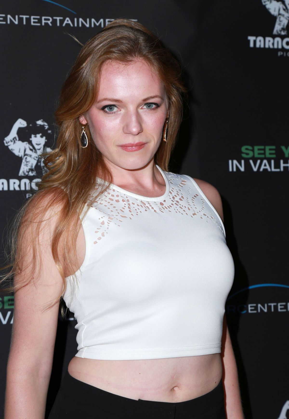 EMMA BELL at See You in Valhalla Premiere in Hollywood