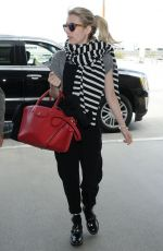 EMMA ROBERTS Arrives at LAX Airport in Los Angeles