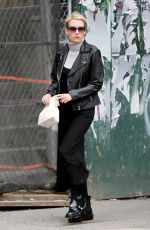 EMMA ROBERTS Leaves a Bakery in New York