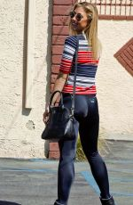 EMMA SLATER in Tights Arrives at DWTS Rehearsals in Los Angeles