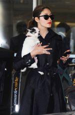 EMMY ROSSUM Arriving at Los Angeles International Airport 04/27/2015
