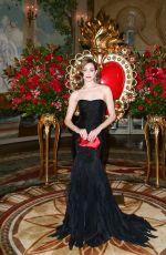 EMMY ROSSUM at Save Venice Un Ballo in Maschera Event in New York