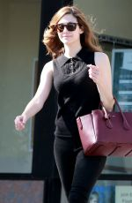 EMMY ROSSUM Out and About in West Hollywood