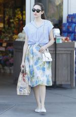 EMMY ROSSUM Out Shopping in West Hollywood 04/27/2015