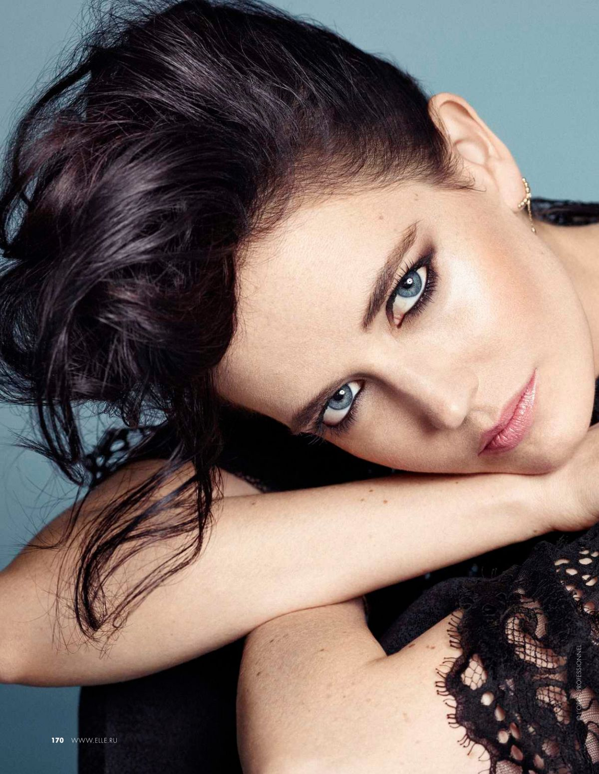 EVA GREEN in Elle Magazine, Russia May 2015 Issue ... Eva Green