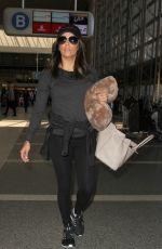 EVA LONGORIA Arrives at LAX Airport in Los Angeles 04/28/2015