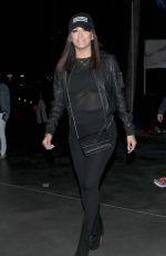 EVA LONGORIA Arrives at Staples Center in Los Angeles 04/22/2015
