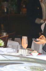 EVA LONGORIA at Nello Restaurant in New York 04/26/2015
