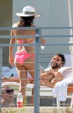 EVA LONGORIA in Bikini on the Pool in Miami