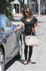 EVA LONGORIA Leaves Ken Paves Salon in Beverly Hills 004/28/2015