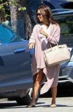 EVA LONGORIA Leaves Ken Paves Salon in West Hollywood