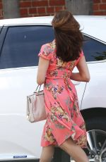 EVA MENDES Out and About in Los Angeles 04/29/2015